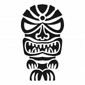 Angry Idol Icon. Simple Illustration Of Angry Idol Vector Icon For Web Design Isolated On White Back poster