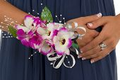 pic of senior prom  - Prom or wedding corsage - JPG
