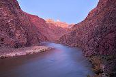 picture of zoroaster  - Long exposure of Grand Canyon and Colorado River lit with twilight - JPG