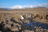 picture of taimyr  - Rocky landscape on the Putorana plateau - JPG