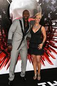 Terry Crews and wife Rebecca Crews at the