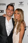 Giuliana Rancic and husband Bill Rancic  at the OK Magazine USA Fifth Anniversary Party, La Vida, Ho