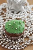foto of hazelnut tree  - Christmas Tree Muffins with chocolate - JPG