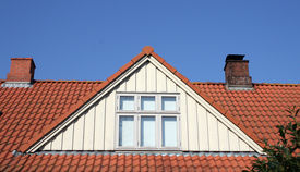 pic of red roof  - roof loft conversion or dormer - JPG
