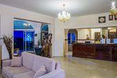 foto of reception-area  - Five stars Luxurious Hotel Lobby recetion area - JPG