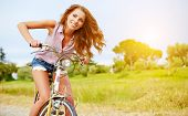 stock photo of bike path  - vacation in Italy - JPG