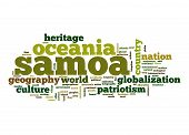 pic of samoa  - Samoa word cloud image with hi - JPG