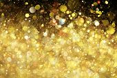 foto of gold-dust  - Gold glitter - JPG