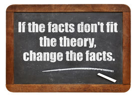pic of einstein  - if the facts do not fit the theory - JPG