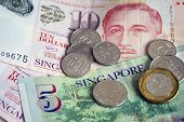 image of currency  - Singapore currency  - JPG