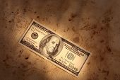 Grunge Dollar Background