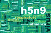 picture of avian flu  - H5N9 Concept as a Medical Research Topic - JPG