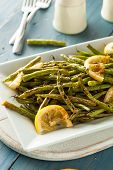 picture of sauteed  - Homemade Sauteed Green Beans with Lemon and Garlic - JPG