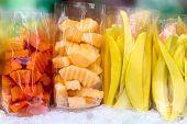 stock photo of papaya fruit  - Fresh mango - JPG