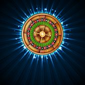 picture of roulette table  - Background with roulette - JPG
