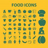 foto of continental food  - food isolated web icons - JPG