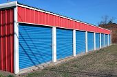 pic of self-storage  - Storage units in a retail lease facility - JPG