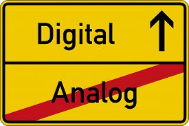 image of analogy  - The German words for analog and digital  - JPG