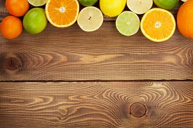 picture of mandarin orange  - Citrus fruits - JPG