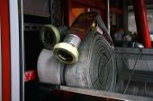 picture of firehose  - fire Field operations of the fire hose - JPG