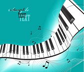 stock photo of musical instruments  - Music background - JPG