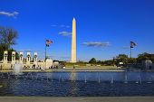 picture of lobbyist  - War memorial and State capitol a symbol of Washington DC - JPG