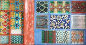 image of stained glass  - stained glass background - JPG