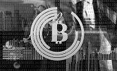 Mining Crypto Currency Bitcoin. Solve Block Earn Profit. Blockchain Technology. Mining Bitcoin. Futu poster