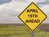 Caution - April 15Th Ahead