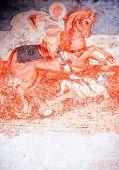 Постер, плакат: Античной настенные фрески Сент Джордж