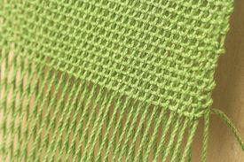 stock photo of handloom  - Close - JPG