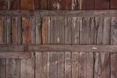 Weathered Wood Of Old Barn Wall poster