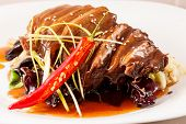 foto of roast duck  - Roasted duck meat - JPG