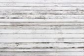 image of wooden fence  - The white wood texture with natural patterns background - JPG
