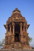 stock photo of khajuraho  - Javari temple - JPG