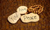 Peace, Love And Kind Rocks