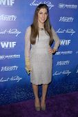 Mayim Bialik at the Variety and Women In Film Pre-Emmy Event, Scarpetta, Beverly Hills, CA 09-21-12