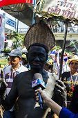 Protesters Shut Down Bangkok To Reform Before Election At Asoke