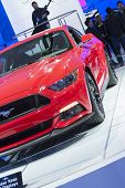 Detroit - January 26 :the New 2015 Ford Mustang At The North American International Auto Show Januar