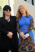Ann Wilson, Nancy Wilson at the induction ceremony for Heart into the Hollywood Walk of Fame, Hollyw