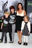 Hudson Scheel, Eulala Grace Scheel, Marcia Gay Harden, Julitta Dee Scheel at the