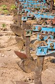 pic of cultivator-harrow  - Agricultural machinery - JPG
