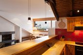 picture of chalet interior  - Architecture - JPG