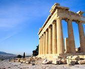 pic of parthenon  - Parthenon on the Acropolis in Athens - JPG