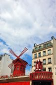 foto of cabaret  - The most famous in the world of windmill  - JPG