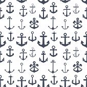 pic of anchor  - Anchors seamless background - JPG