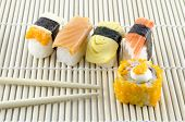 picture of sushi  - Japanese food - JPG