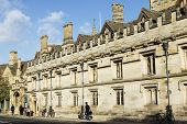 picture of magdalene  - Famouse Magdalen college in Oxford - JPG