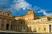 picture of apostolic  - Apostolic Palace also called the Papal Palace or the Vatican Palace  - JPG