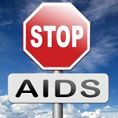 image of condom use  - stop aids promote safe sex and prevent infection and use condom - JPG